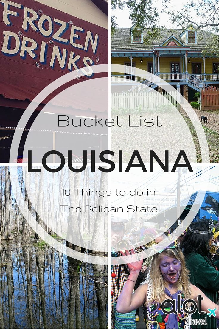 Louisiana offers unique experiences to tourists who pass through the state- and here's our list of top 10 things to do, see, taste & stay when vacationing in Louisiana.
