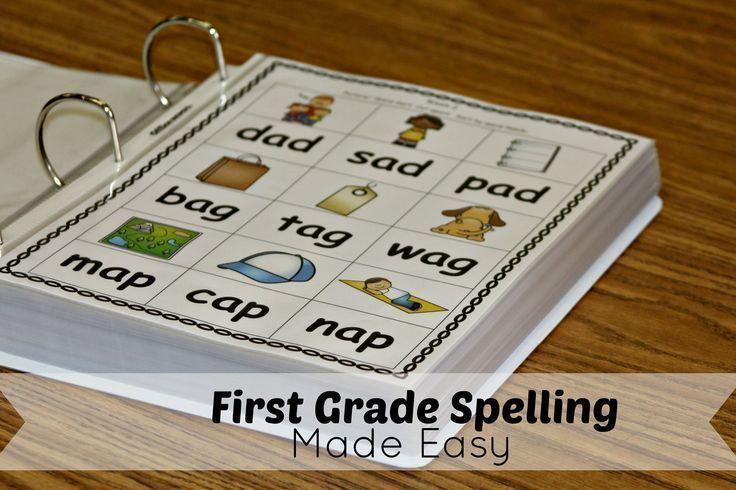 First Grade Spelling