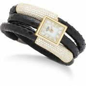 Black and gold - a rich classic combination. Available from Inuti Designer Jewellery, 43 King Edward Court, Windsor, SL4 1TG, Tel: 01753 620-860