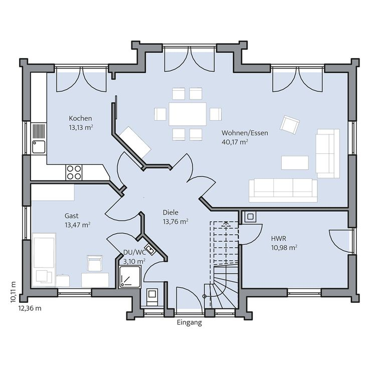 Haus Lange – Erdgeschoss – Lena Reutter