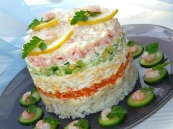 Рецепт салата крабовый с капустой