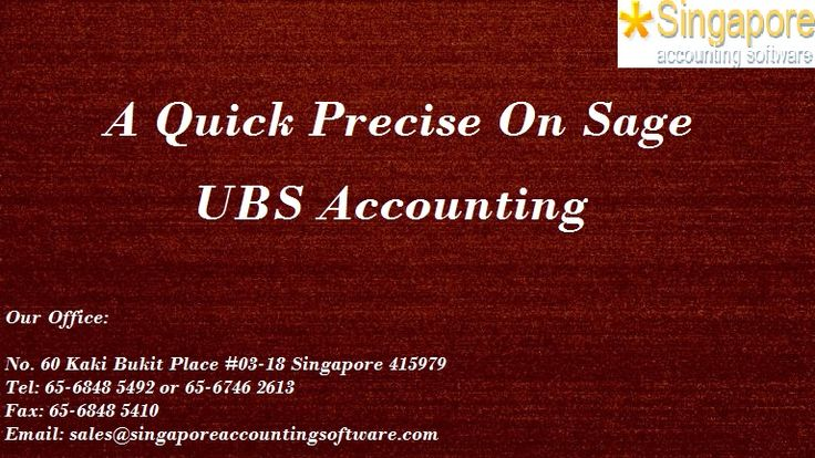 A quick precise on Sage UBS Accounting #Sage UBS #Accounting is step one to automatic #enterprise. With extra than 180,000 installations it is now a family logo amongst Small Medium companies (SMBs). Many establishments of higher getting to know pick Sage #UBS as a part of their course as it is simple to use and has comprehensive reviews. This gives a continuous availability of fresh and certified accountants for SMEs to enlarge their enterprise. The modules available in Sage UBS include: