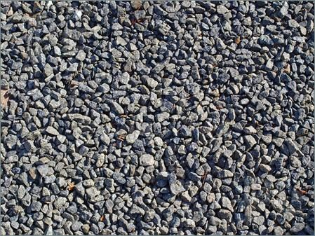 Photo of Gravel stones pattern background construction abstract