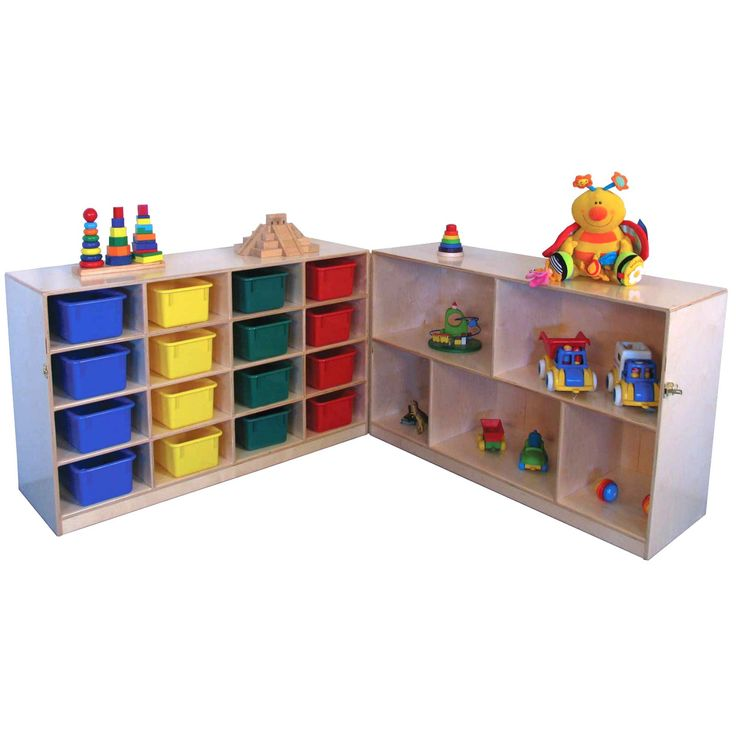 Strictly for Kids Preferred Mainstream Fold 'N' Lock Storage Unit with Cubbies - SF1174