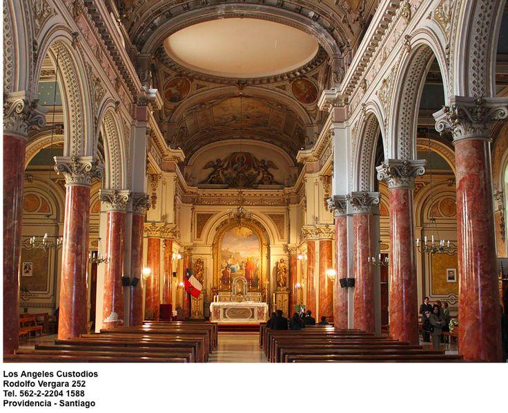 Iglesia Los Angeles Custodios  Rodolfo Vergara 252  Providencia - Santiago