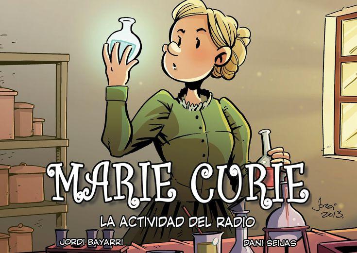 Marie Curie. La actividad del radio. Un libro de Jordi Bayarri