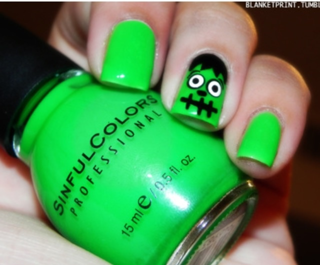 100 best Uñas Halloween images on Pinterest | Diseños de uñas de ...