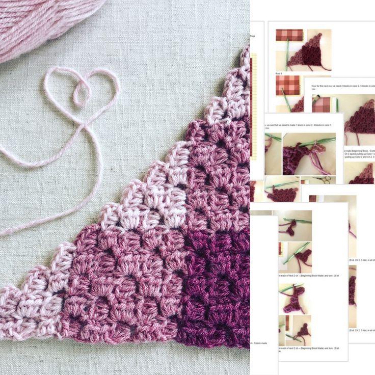 Mejores 979 imágenes de crochet en Pinterest | Patrones de ganchillo ...