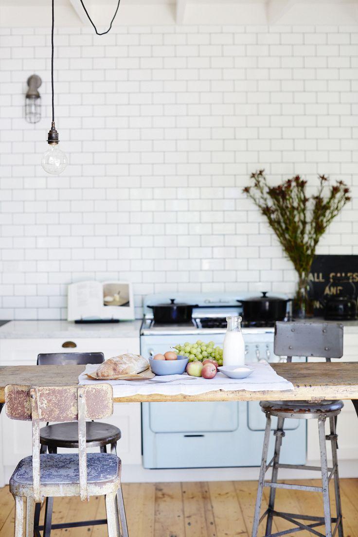 La cocina - eclecticismo de antigüedades, clásico, vintage e industrial