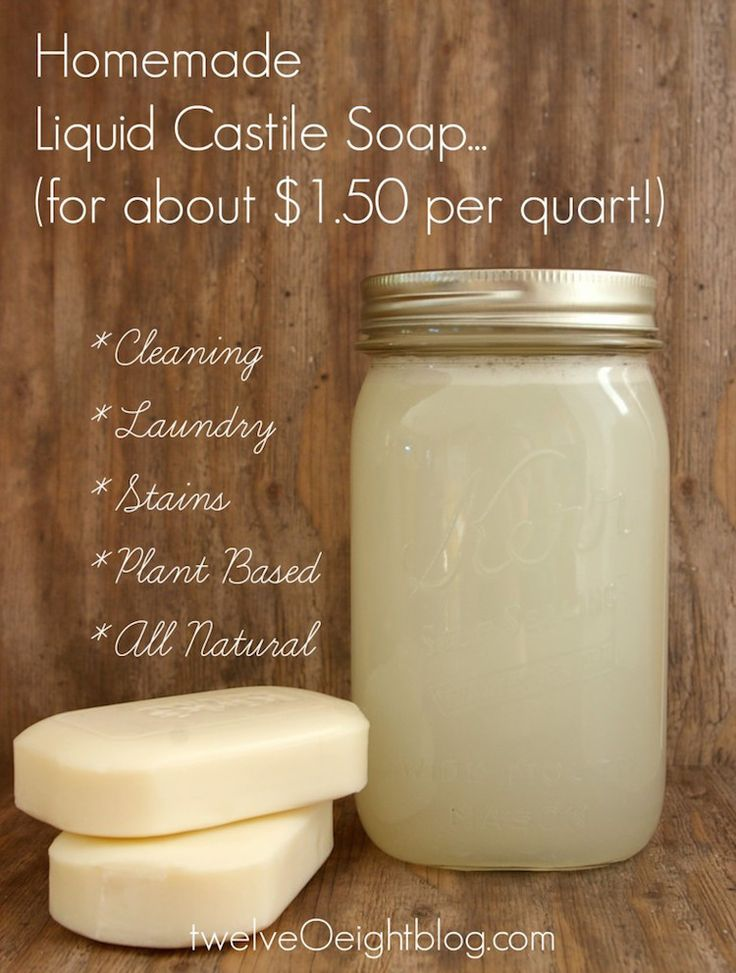 The Busy Girl's Guide to DIY. How to make DIY Castile Soap