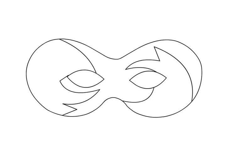 53 besten Mask craft and templates Bilder auf Pinterest ...