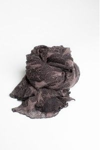 Brown soft scarves