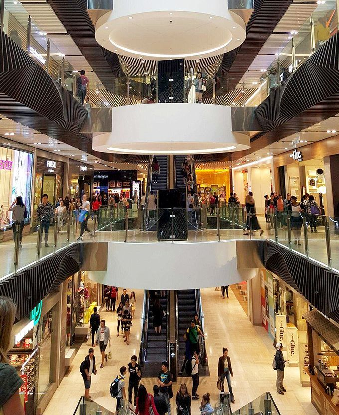 Shopping Malls Images On
