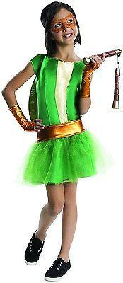 Rubies Teenage Mutant Ninja Turtles Deluxe Michelangelo Tutu Dress Costume Ch...
