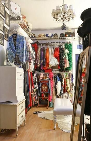 40 Ways to Organize Your Closet from Pinterest | StyleCaster
