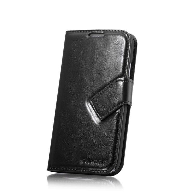 Samsung Galaxy S4 I9500 Blumax Plånbok Läderväska - Svart