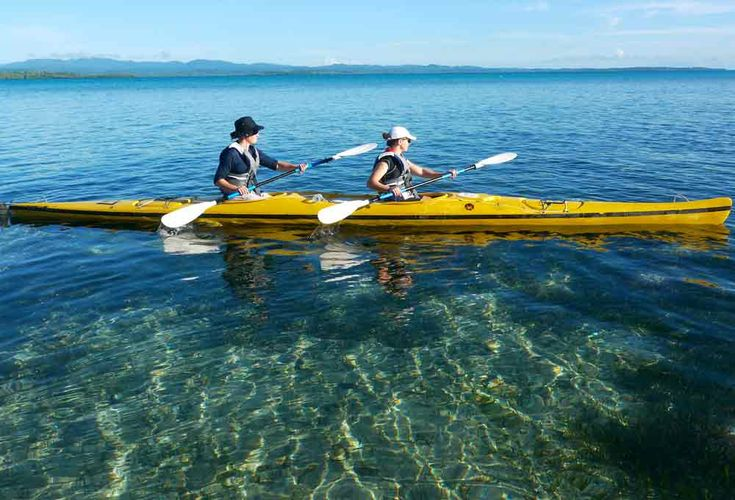 Australian-owned 'No Roads Expeditions' offers a terrific 50-mile kayaking trip along the coral atolls that stretch along Papua New Guinea's province of New Ireland.