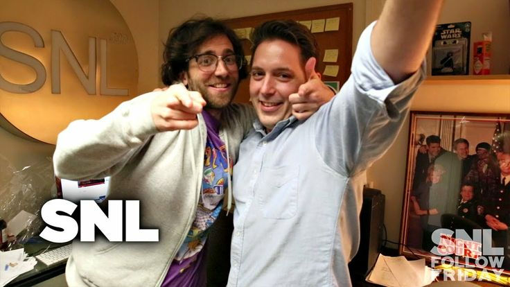 Take a tour through Beck Bennett and Kyle Mooney's #SNL office! #FollowFriday