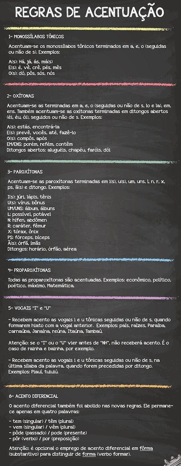 arte acentuação (Foto: Divulgação)