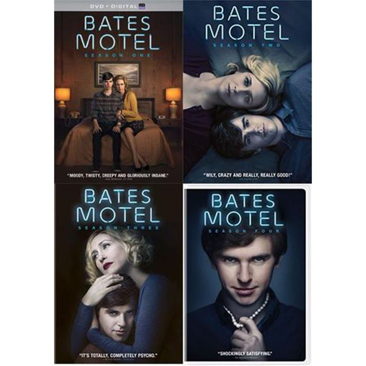 Bates Motel Seasons 1-4 Set on DVD