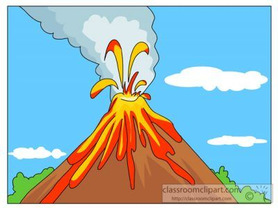 Volcano Clipart – ClipartAZ – Free Clipart Collection