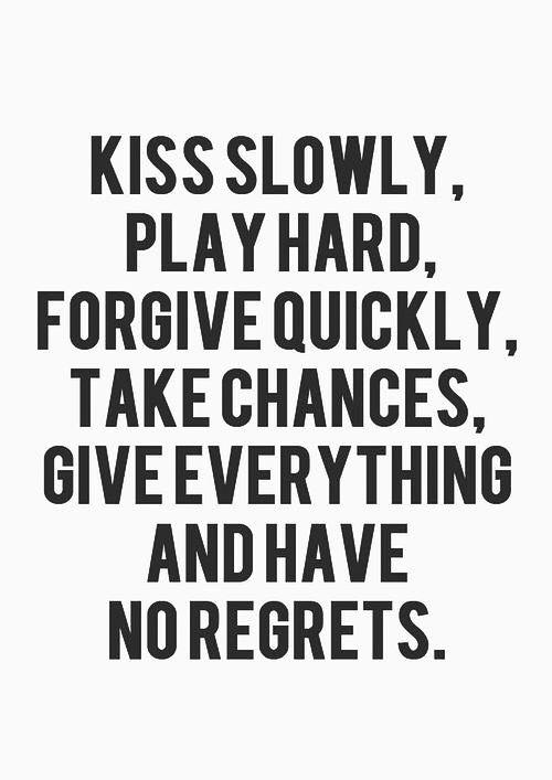 Love Regret Quotes Images: Best 25+ No Regrets Ideas On Pinterest