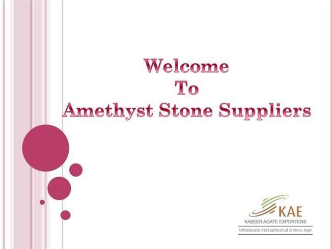 Wholesale #Amehtyst Gemstones Suppliers India