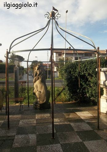 19 best steel archway pergola gazebo images on pinterest for Gazebox prezzo