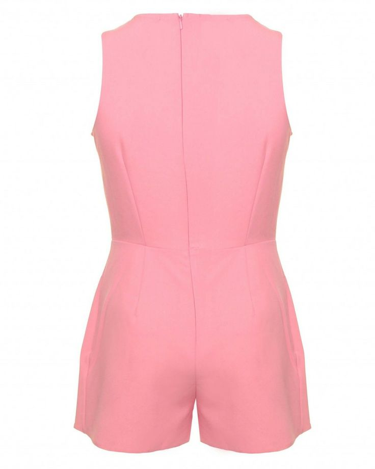 LOVE Bubblegum Playsuit With Overlay Shorts - In Love With Fashion