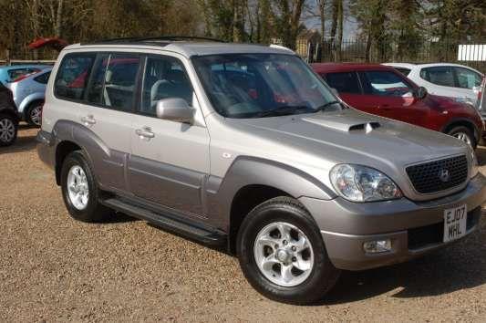 Used 2007 (07 reg) Aluminium Silver Hyundai Terracan 2.9 CRTD 5dr for sale on RAC Cars