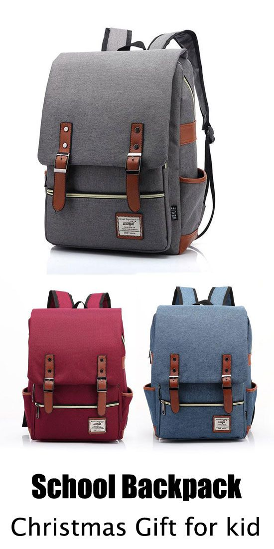 Buy this bag as the gift for kid! #gift #rucksack #backpack #kid #college #school #bag