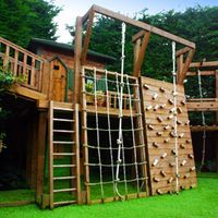 Natural Playgrounds For Preschoolers | Natural Playground Design for Croydon Like the varied options for climbing up and down.