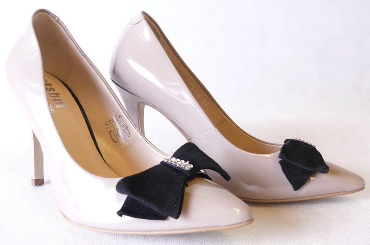 Hit Czolenka Eksbut 2885 R37 Lakier Bez Teseo 5064969998 Oficjalne Archiwum Allegro Heels Peep Toe Shoes