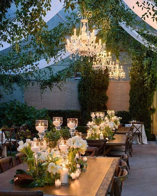 The things tent dreams are made of! Stunning wedding tent decor for the fall. #weddingdecor
