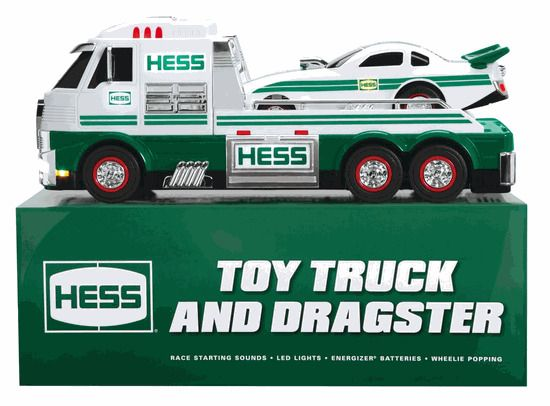 HESS TOY TRUCK & DRAGSTER 2016 Comes in Factory sealed boxes, Limited Edition  #HESS
