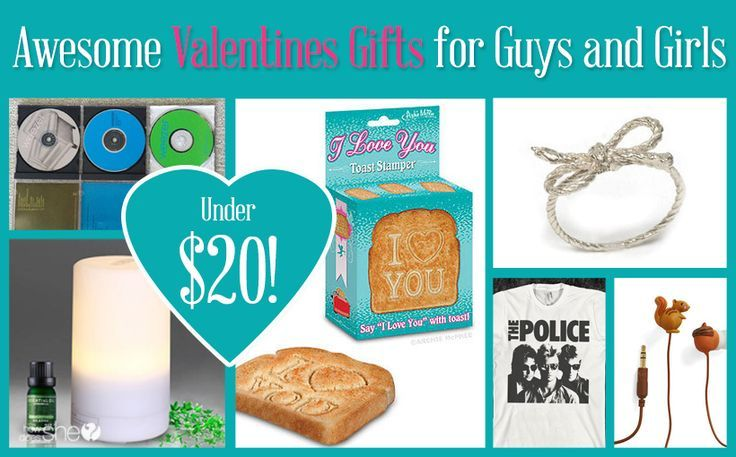 Awesome Valentines Gifts for Guys and Girls under $20!!