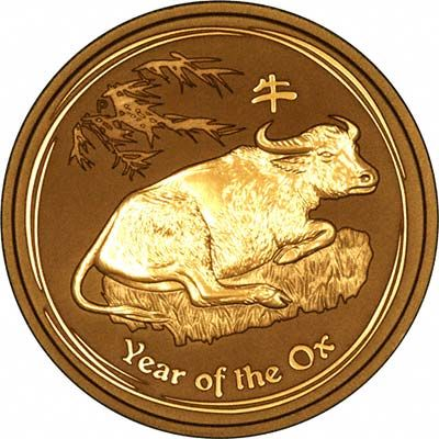 Year of the ox Australian gold coin (1 kilo)