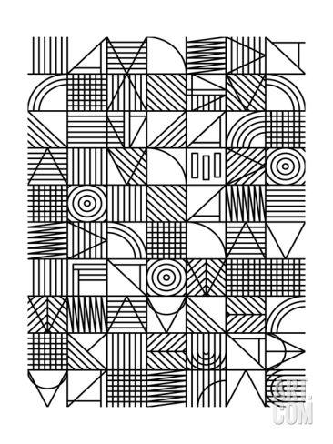 Whack Giclee Print by Fimbis at Art.com  #fimbis #eastendprints #abstract #geometric #shapes #style #styleblog #fashion #fashionblogger #fashionblog #styleblogger #blackandwhite #designer #blackfriday #shapes #wallart #minimal #minimalism #inspirational #white #fblogger #handmade #homedecor #homestyle #wallart #interiors #interiordesign #homedesign #monochrome