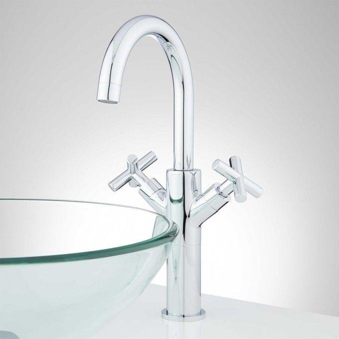 Tabor Single-Hole Vessel Faucet - Bathroom Sink Faucets - Bathroom