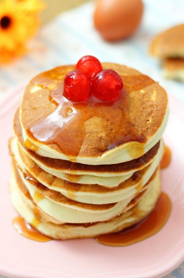 Ricetta Pancake Di Benedetta.Pancakes Super Soffici Per La Colazione Fatto In Casa Da Benedetta Ricette Ricette Di Cucina Pancake Facili