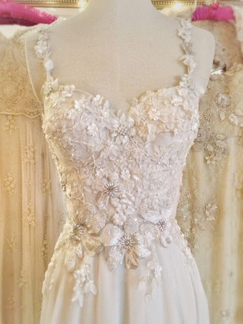 Joanne fleming design althea an ethereal romantic for Romantic ethereal wedding dresses