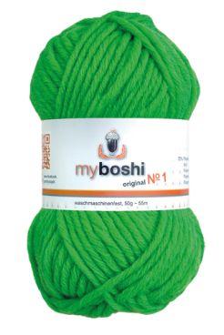 myboshi No.1 184 neongrün 70% Polyacryl und 30% Schurwolle (Merino) 3,75 €