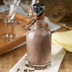 home made whiskey cream liqueur