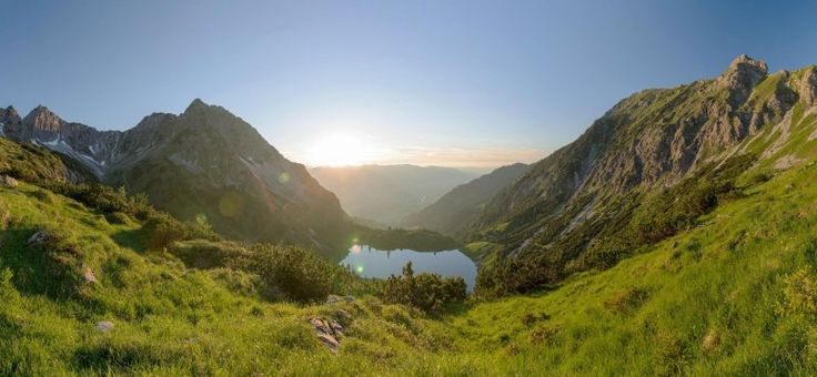 Gewässer: Seen und Flüsse in Oberstdorf
