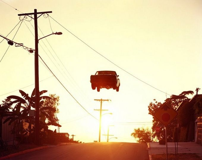 Photographer Matthew Porter - flying cars (1)