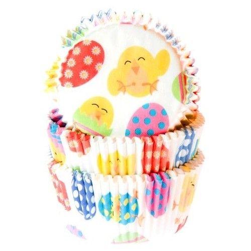 Geef met deze baking cups jouw Paascupcakes een extra feestelijk tintje.