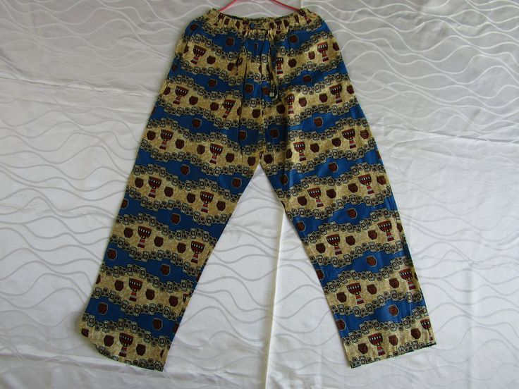 African clothing/African print pants/African clothes/African shop online/African fashion/Womens pants/Mens pants by handicraftafrica on Etsy