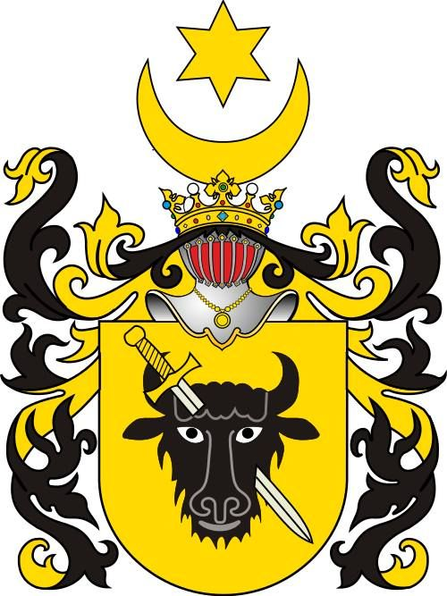 Coat of arms Pomian of polish noble family, variant  -  https://www.facebook.com/photo.php?fbid=1474909822781241