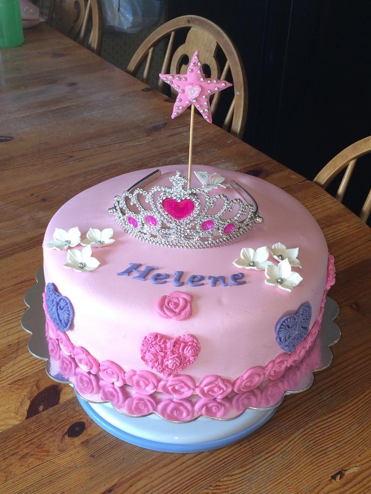 Bursdagskake til jente