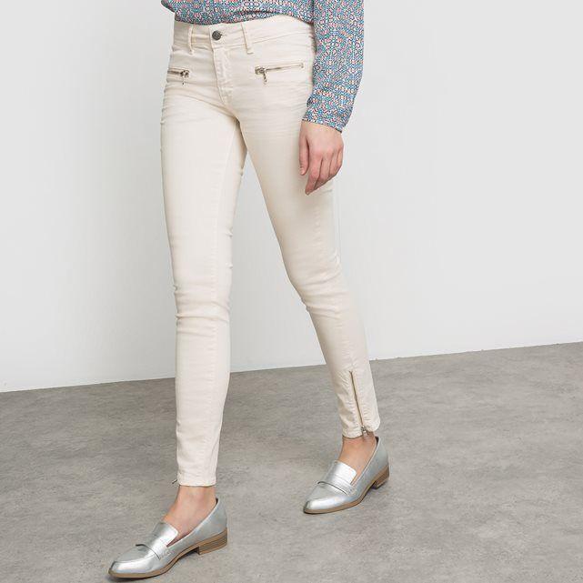 Pantalon Soho, coupe skinny bas zippés CIMARRON